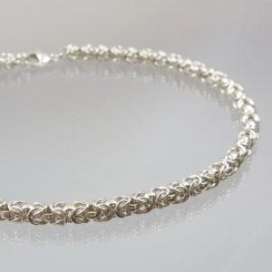 Collier Königskette 929 Silber 63g