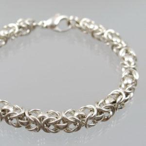 Armband Königskette 925 Sterlingsilber